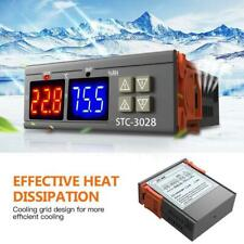 STC-3028 AC110-220V Dual LED Temperature Humidity Controller New Thermostat Q0O7