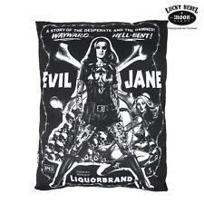 LIQUOR BRAND Kissen Evil Jane - Pillow  Rockabilly Pin Up Retro NEU
