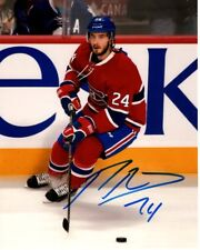PHILLIP DANAULT MONTREAL CANADIENS SIGNED AUTOGRAPHED 8X10 PHOTO PICTURE IMAGE