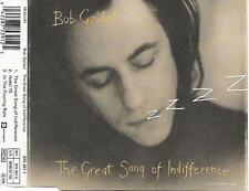 BOB GELDOF - The great song of indifference CD SINGLE 3TR UK 1990 MERCURY