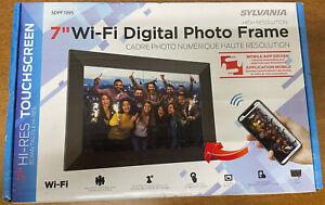 "Sylvania 7"" Wi-Fi Digital Photo Frame - SDPF7095"