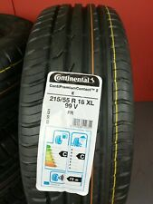 Continental PremiumContact 2 E 215/55 R18 99V XL FR Sommerreifen DOT17