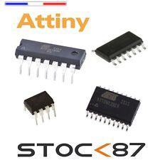 microcontrôleur attiny13, 44,45, 84, 85, 2313, 4313