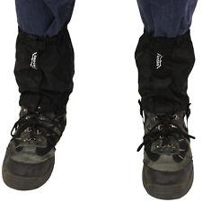 ANDES Black Waterproof Walking Hiking Outdoor Trekking Boot Ankle Gaiters