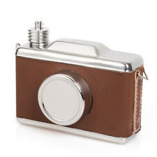 6oz Camera Shape High Quality Portable 304 Stainless Steel Hip Flask