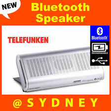 NEW Telefunken CLUTCH Bluetooth Speaker - Portable Rechargeable Wireless Speaker