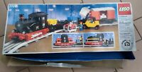 LEGO 7727 Treno merci a vapore solo scatola vuota originale usata rara