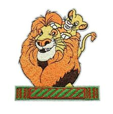 1 Écusson Brodé Thermocollant NEUF ( Patch ) - Le Roi Lion Simba Disney (Ref 3)