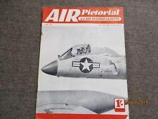 June 1954, AIR PICTORIAL, Republic Thunderflash, De Havilland Hornet, Nardi 333.