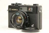 【NEAR MINT+】 YASHICA Electro 35 GX Black Rangefinder Film Camera from JAPAN