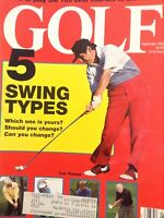 Golf Magazine Lee Trevino Payne Stewart September 1990 010518nonrh