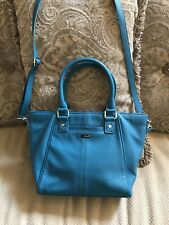 RARE NEW 31 JEWELL THIRTY-ONE Fashion Week SATCHEL PURSE Teal Affair Pebble BAG