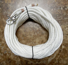 """5/16"""" x 85 ft. Natural/White Dac/Polyester, w/S/S Swivel Snap Shackle"""