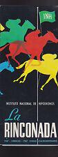 La Rinconada Instituto Nacional de Hipodromos 1967 Caracas Brochure