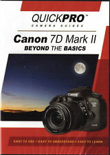 QUICKPro Training DVD Canon EOS 7D Mark II - Beyond the Basics< Free US Shipping