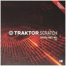 Native Instruments Traktor Scratch Pro Control Vinyl Red Vinile Controllo Rosso