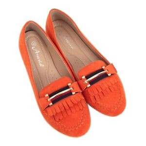 Orange Frauen Slipper 88-381 Orange