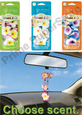 Bahama by Refresh Scented Lei Hanging Car Rearview mirror Air Freshener Necklace