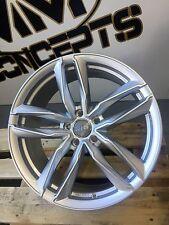 20 Zoll UA6 Alu Felgen 5x112 Silber für Audi A4 S4 A5 S5 SQ5 Q3 Q7 RS6 Scirocco