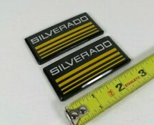 CHEVY SILVERADO EMBLEMS 88-98 SIDE BODY/CAB PICKUP TRUCK BADGES sign symbol logo