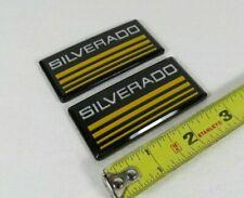 Chevy Silverado Emblems 88 98 Side Bodycab Pickup Truck Badges Symbol Logo Fits Silverado