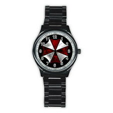 RESIDENT EVIL Stainless Steel Back Round Men's Watch FASHION HOT GIFT NEW