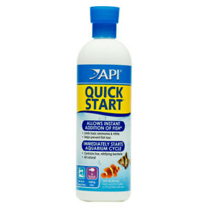 API Quick Start Fish Water Treatment Ammonia Filter Bacteria Aquarium Cycle