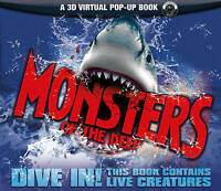 (Good)-Monsters of the Deep (An Augmented Reality Book) (Hardcover)-Nicola Davie