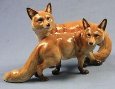 Fuchsgruppe Hutschenreuther porzellanfigur figur porzellan Füchse fuchs