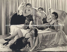 THE GOLDWYN GIRLS INDULGE IN A PILLOW FIGHT IN SEXY LINGERIE LEGGY PHOTO A-GOLD