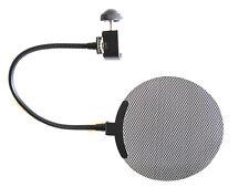 "Pop Filter Microphone Stand Base Wind Screen Gooseneck Metal Round 5"" PF-002"
