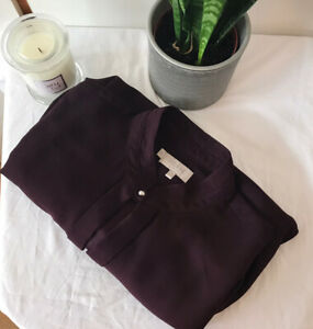 Women's Hobbs London Dress Size 14 Purple Colour In Very Good Condition
