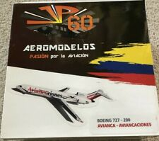 JP60 AEROMODELOS Avianca - Aviancaciones BOEING 727-200 1:200 with Stand NEW
