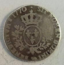 LOUIS XV 5EME D'ECU 1770 PAU