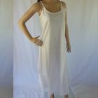 100% COTTON SLIP Long NEW LAYERING Dress Petticoat Size 12 14 16 18 20 Quality