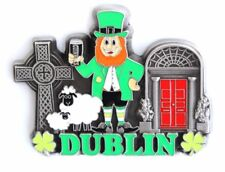 Unique Style Metal Fridge Magnet Home Decor Holiday Souvenir Gift from Dublin