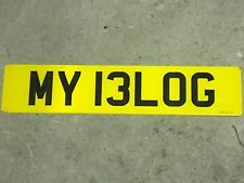 Number plate MY13 LOG (MY 13LOG) MY BLOG? fishing banker cherished