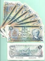 Canada  $5 (1979) - BC-53a  Circulated Note