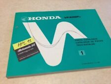 Manuales de reparación y servicios VF Honda