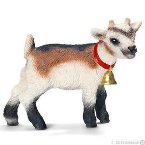 NEW SCHLEICH 13720 Domestic Goat Kid - Farm Life Models - RETIRED