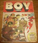 BOY Comics #12 scarce Lev Gleason ultra-violent WWII-era cover crimebuster