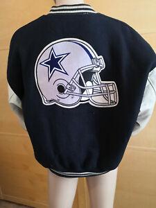 Chalk Line Football Jacke, Leder, Made in USA Gr XXL sehr selten! Vintage