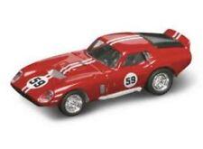 Shelby Cobra Daytona Coupe' 1965 #59 Red / White 1:43 Model LUCKY DIE CAST