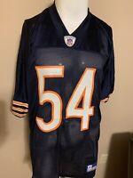Brian Urlacher Reebok NFL Equipment Chicago Bears Mens Football Jersey XL