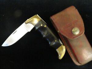KERSHAW KAI JAPAN 1050 PHENOLIC RESIN HANDLE LOCKBACK FOLDING FIELD POCKET KNIFE