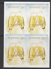 Australia 2014 Champagne Glass Booklet Stamps SA Block of 4  - AU3934BK