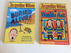 Jacqueline Wison 2 Books Double Act & Buried Alive