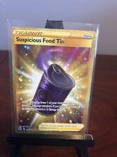 Pokemon Tcg Champion's Path Suspicious Food Tin Secret Rare 080/073 Near Mint