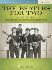The Beatles for Two Cellos Easy Instrumental Duets Book New 000291030