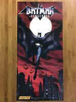 Official Batman Vengeance Gamecube Xbox 2001 Nintendo Power Poster Authentic!